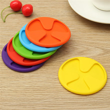 1 Piece Useful Silicone Cup Mug Bar Drink Pads Dining Table Placemat Coaster Kitchen Accessories Decor 5 Colors