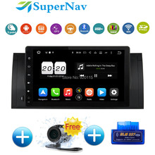 "9"" Touch screen Car Navigation system Android 6.0.1 fit for BMW E39 E53 X5 M5 with 8 Core Bluetooth Wifi 4G DAB+ Radio GPS Navi"