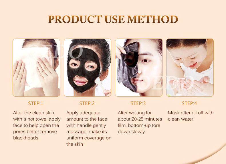 Buy 3 Get 1 Gift Skin Care Volcanic Soil Facial Mask Remove Blackhead Deep cleaning Repair Whitening Moisture Oil-Control Cream