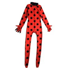 miraculous ladybug cat noir costume lady bug kids costumes girls sexy children girl spandex adult romper halloween fancy dress
