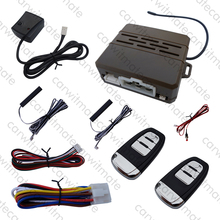 Smart Hopping Code PKE Car Alarm System Auto Central Lock Remote Trunk Release Fits For DC12v Cars