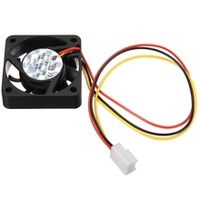 3Pin 40mm*40mm*10MM Durable DC 12V Internal Desktop Computer CPU Case Cooling Cooler Silent Fan 4cm