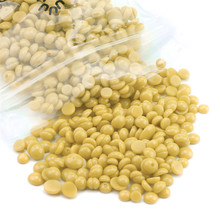 Pretty 50G/1bag Depilatory Wax Beans No Strip Depilatory Hot Film Hard Wax Pellet Waxing Bikini Hair Removal Bean Product(China)