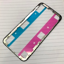 5pcs/lot Brand New middle Frame LCD Touch Screen Front Bezel Housing for iPhone x(China)