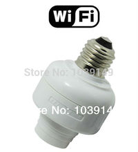 LED Wifi controller, E27 WiFi Lamp Adapter;AC100-240V(50/60Hz);Max 200W;E27 interface compatible triac dimmer LED bulb