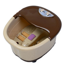 Electric Foot SPA footbath Machine Full-automatic Foot Massage Heating Roller Massager Safe bucket Constant Basin