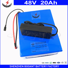 1800W 20Ah 48V eBike Battery For 18650 Cell Built-in 50A BMS Lithium Battery 48V With 2A Charger Electric Bicycle Battery 48V(China)