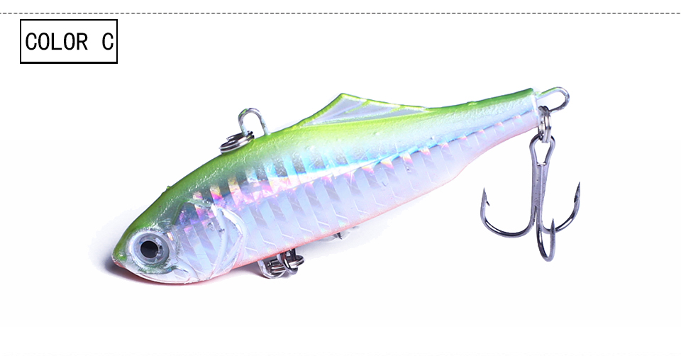 7.5cm talvine kalastamise lant