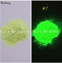 10g Yellow Glowing Luminescent powder phosphor powder,DIY Nail enamel powder glow powder,Nail Glitter Decoration pigment