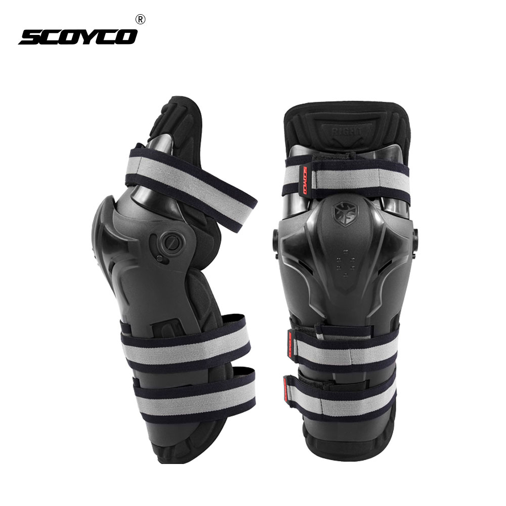 SCOYCO Motocross Off-Road Racing Knee Protector Guard Motorcycle Riding Knee Pads Outdoor Sports Protective Gear Accessories<br>