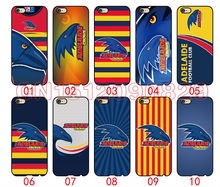Adelaide Crows Cover Case For iPhone 6 6S Plus 5 5S 5C 4S iPod Touch 6 5 4 For Samsung Galaxy S2 S3 S4 S5 S6 S7 Edge Note 3 4 5(China)