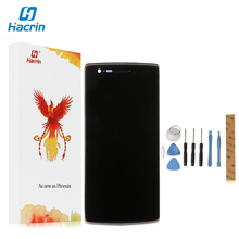 hacrin For Oneplus One LCD Display New Display+Touch Screen Digitizer Glass Panel With Frame Replacement For Oneplus One 64/16GB