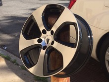 "4 New Free Shipping 19"" SPORT STYLE RIMS WHEELS W602 FITS Volkswagen Golf GTI(China)"