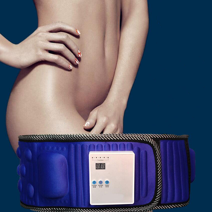 1PC Charging Fat Burning Slimming Belt Slimming Fat Apparatus Shaking Machine Slimming Electronic Slimming Belt SD25<br>