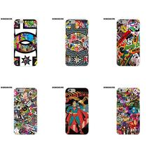 BobSdrunk Soft Silicone TPU Transparent Design Customized Dc Sticker Bomb For Apple iPhone X 8 7 6S 6 SE 5C 5S 5 4S 4 Plus(China)