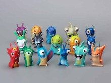 Slugterra Figures PVC Action Figures Dolls 16pcs/set Children Toys Christmas Gifts 4CM Free Shipping(China)