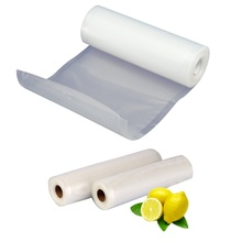 SKitchen Vacuum Food Sealer Rolls PE Food Grade Membranes Keep Fresh Vacuum Storage Bag Wrapper Film Foodsaver Rolling 3 Size(China)