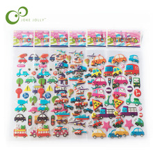 5pcs/lot Free shipping Kids Train Tomas Cartoon 3D Bubble Stickers for Children 17*7cm children's gifts GYH(China)