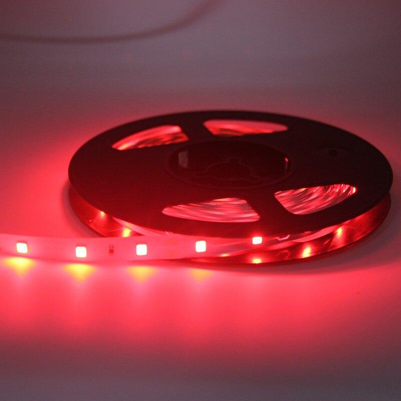 red lighting -