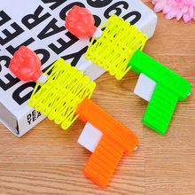 New children funny toy magic funny toy magic tricky elastic telescopic fist child toy gun childhood nostalgia classic good gift(China)