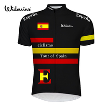 Tour of Spain Coverall Cycling Skinsuit 2017 Ropa De Ciclismo Maillot Men Cycling Sports Triathlon Sports Cycling Clothing 6520