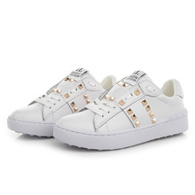 2017 Fashion Designer Women Shoes Ladies Trainers Chaussures Femme Flats Sapato Feminino Zapatillas Mujer Casuals Damen Shoe