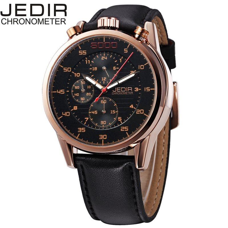 JEDIR 2017 Casual Mens Orologio Uomo Watches Male Quartz-watch Wrist Watch Montre Homme Gift Box Free Ship<br><br>Aliexpress