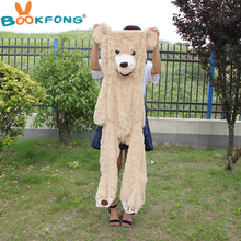 340cm Giant Bear Hull American Bear Skin Teddy Bear Skin Coat Factory Price Soft Toy Best Gifts For Girls