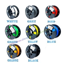 DIY 3d printer filament more colors Optional PLA/ABS 1.75mm MakerBot RepRap plastic Rubber Consumables Material 0.330/KG