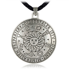 EZEI  Magical Sun Talisman for Wealth, Health and Happiness Charm Amulet