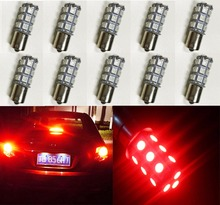 10PCS 1156 BA15S Base Brake LED Bulb Red 5050 18SMD Replacement Bulb RV SUV MPV Car Turn Tail Signal Brake Light Backup Lamps
