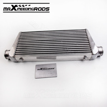 "Aluminum Universal Intercooler 600 X 300 X 76 mm tube and fin Front Mount 3"" Inlet outlet(China)"