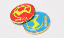 soccer football champion pick edge finder coin toss referee side coin Throw bianbi Choose bianbi Football training equipment