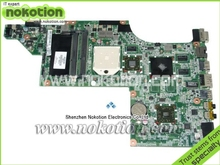 NOKOTION Free Shipping 615686-001 laptop motherboard for HP DV7  motherboard ATI Graphics DDR3 RAM full Tested