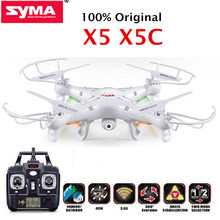 SYMA X5 X5C RC Quadrocopter with hd camera Fly Drone Quadcopter 2.4G Remote Control 6-Axis Gyro Toys syma x5c drones(China)