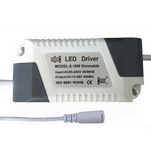 External Power Supply Dimming Driver 6-18 * 1W LED Dimmable Panel Light SCR Drive 6W 7W 8W 9W 12W 15W 18W  10pcs