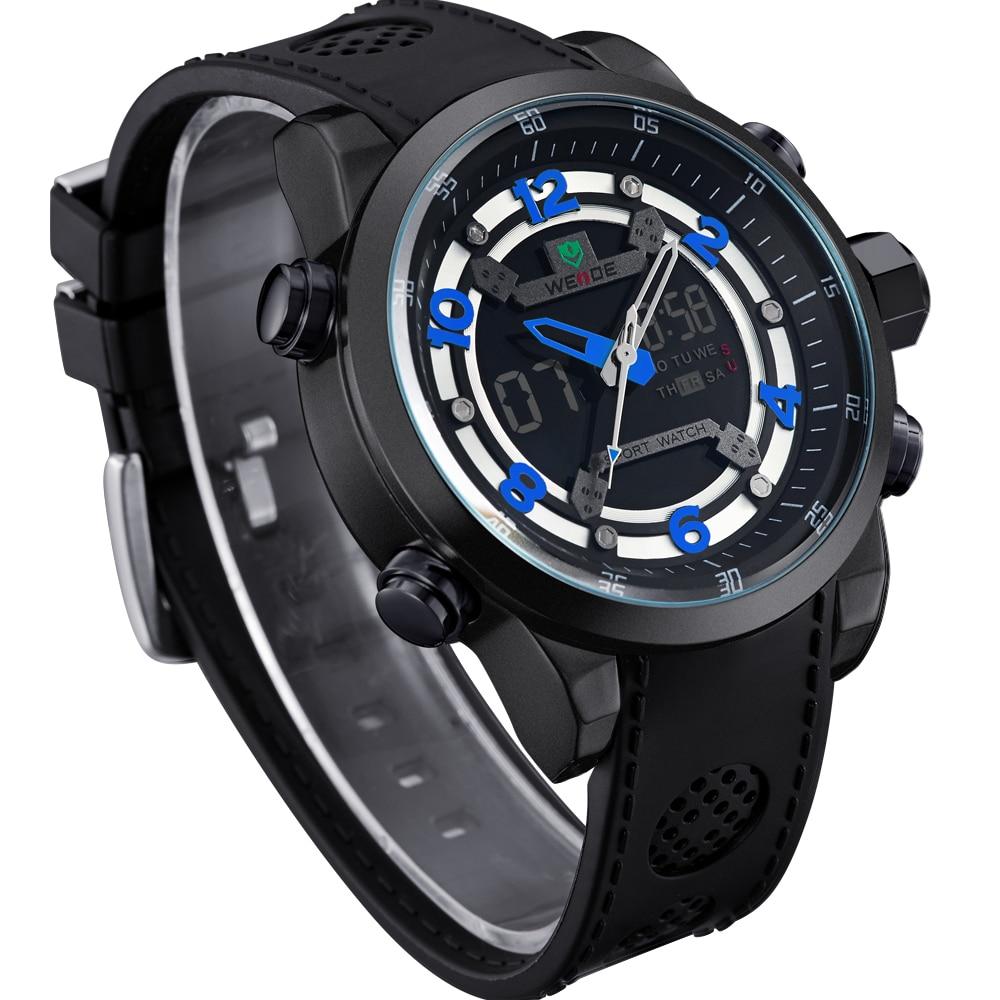 2017 WEIDE  Reloj del Movimiento Del Los Hombres Marca De Lujo De Moda Al Aire libre Relojes Del Reloj Impermeable Reloj Hombre<br>