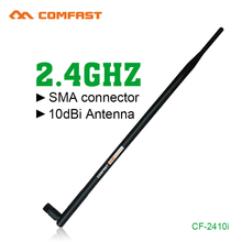 2.4G 10dbi RP-SMA High Gain Comfast Wireless WIFI Antenna Booster Wifi Antennas Amplifier WLAN Router Connector For PCI Card USB