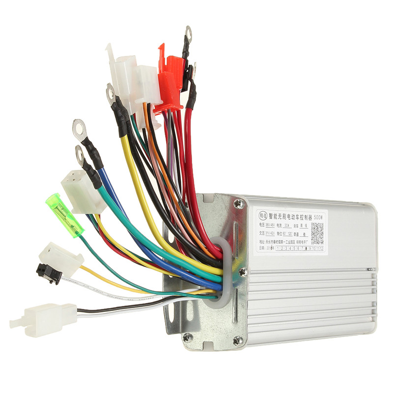48V 500W 30A Brushless Motor Controller for Electric Scooters Bike Hot Sale(China)