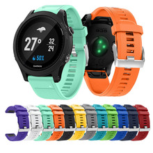 Replacement Silicone Watch Strap Band for Garmin Forerunner 935 GPS Watch Quick Release Watchbands