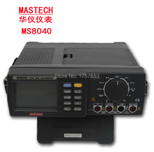MASTECH 22000 count MS8040 BENCH top AC TRMS MULTIMETER Max/Min PC data Analysis