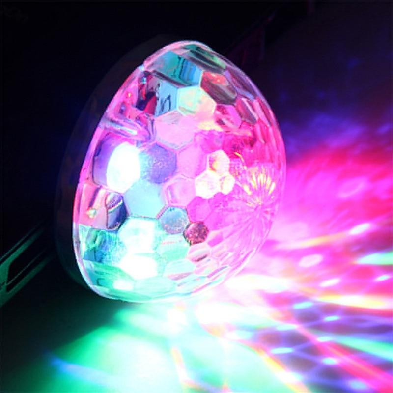 HUANJUNSHI LED USB Stage Lighting Effect 5V RGB Colorful Ball Light Music Control KTV DJ Disco Light Stage Lamp Party Light