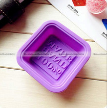 5PCS 100% Handmade Square Soap Mold Silicone Candle Making Homemade Craft SMB 71116907
