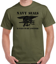 Navy SEALs T shirt men Sprcial forces army short sleeve casual tee USA size S-3XL