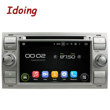 "Idoing 7""Car DVD Player For Ford Fusion Steering-Wheel Android5.1FHD1080P Quad Core 2Din Stereo Radio GPS Navigation Mirror-link"