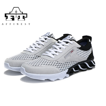 AFFINEST Hot Newest Running Shoes Men Outdoor Sport Shoes Cushioning Men Sneakers Professional Athletic Shoes size 39-44