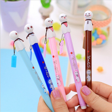 0.38mm Creative Cute Cartoon Plastic Gel Pen Kawaii Sunny Doll Pens For Writing School Supplies Free Shipping 2139