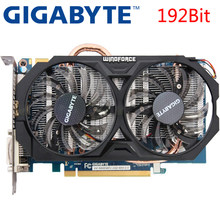 Gigabyte graphics card GTX 660 2 ГБ 192Bit GDDR5 видео карты для nVIDIA Geforce GTX660 использовать карты VGA сильнее, чем GTX 750 TI(China)