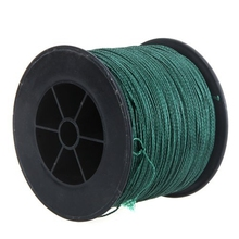 500M 200LB 1mm Dyneema Fishing Line Strong fish twine Braided 4 Strands Green(China)