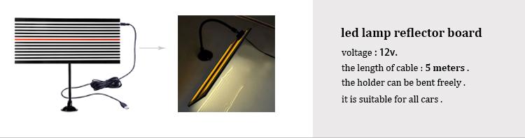 Купить PDR Paintless Dent Repair Tools For Car Kit Дент Удаления инструменты СВЕТОДИОДНАЯ Лампа Рефлектор Доска Клей Вкладки Ручной Инструмент Наборы Ferramentas дешево